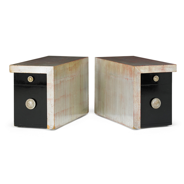 James Mont, 'Pair Of Side Tables, USA', 1960s, Rago/Wright
