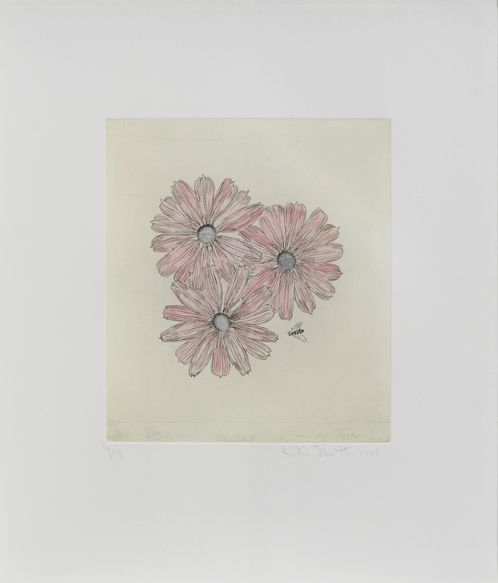 Kiki Smith, 'Flower with Bee', 2000, Sims Reed Gallery
