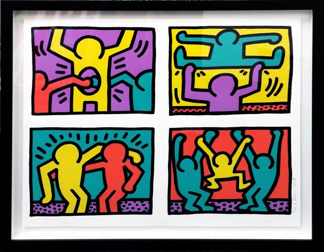 Keith Haring, 'POP SHOP QUAD I', 1987, Gallery Art