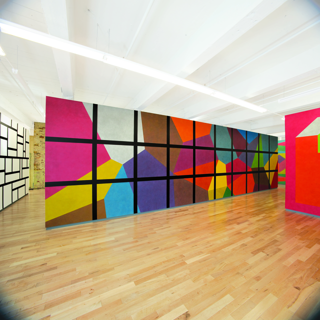 , 'Wall Drawing #692,' 1991, MASS MoCA