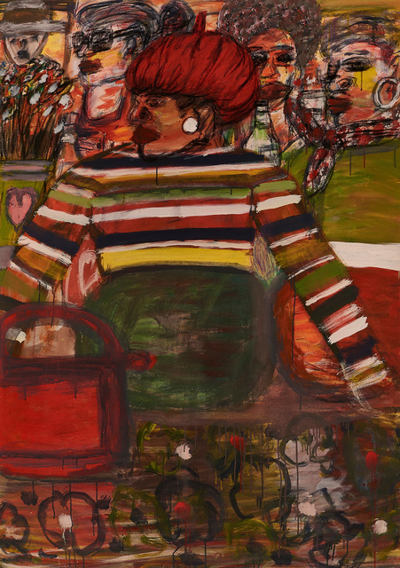 , 'Red Beret,' 2016, Goodman Gallery