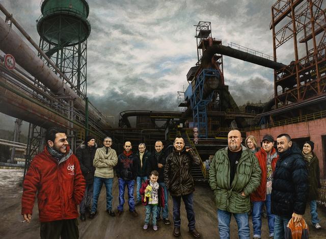 , 'L'acier Lorrain,' 2013, Lily Robert