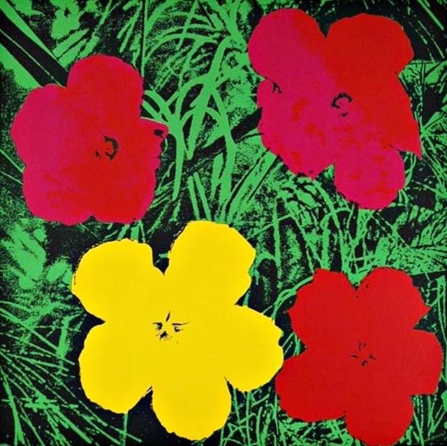 Andy Warhol, 'Flowers (Red & Yellow)', 1970, Alpha 137: Prints & Exhibition Ephemera VII