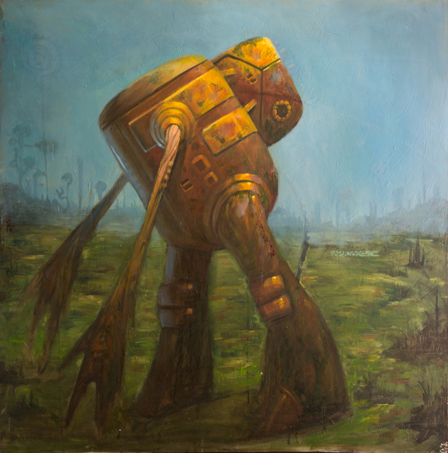 Mario Martinez (Mars-1), 'Qbot', 2003, The Chambers Project