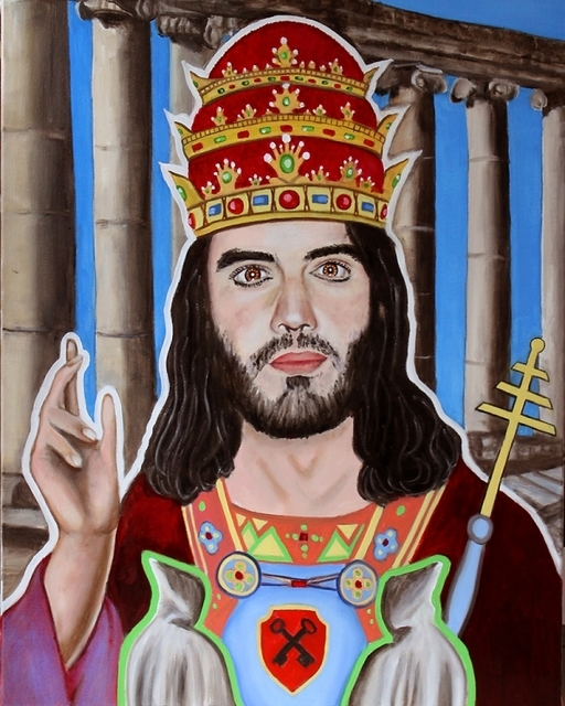 , 'Tarot - Russell Brand as the Hierophant,' ca. 2016, Parlor Gallery