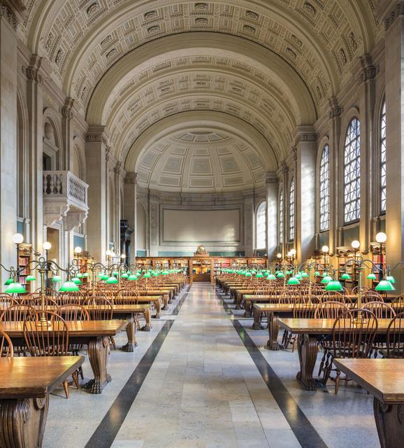 , 'Boston Public Library,' 2017, Undercurrent Projects