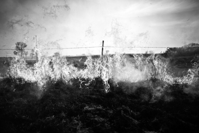 Stephan Anderson-Story, 'Prairie Burn, Chase County, Kansas', 2014, James May Gallery