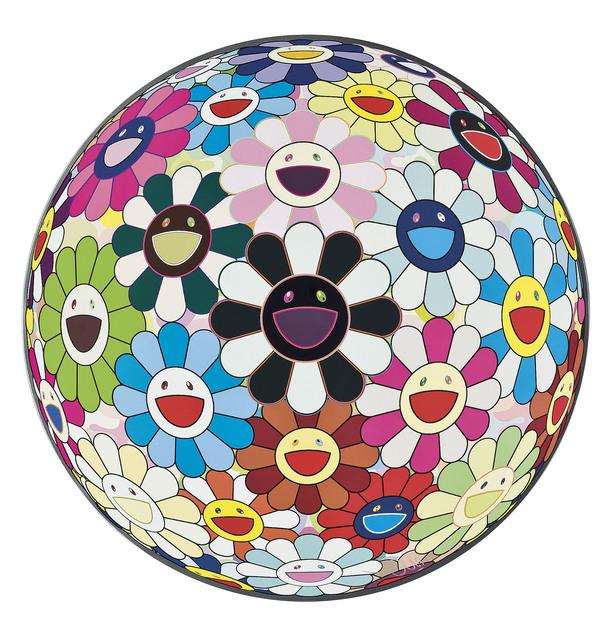 Damien Hirst, 'Flower Ball Blood 3D V', 2011, Yang Gallery