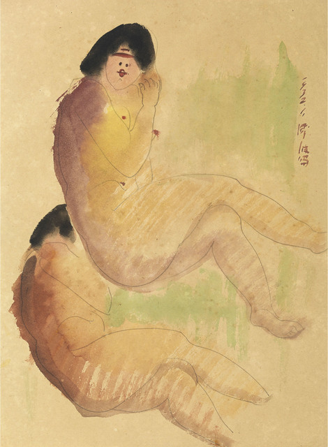 , 'Seated Nude-32.1 (40),' 1932, Liang Gallery
