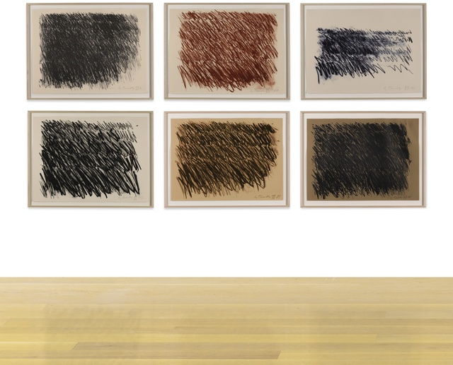 Cy Twombly, 'Untitled [Six Works]', Sotheby's