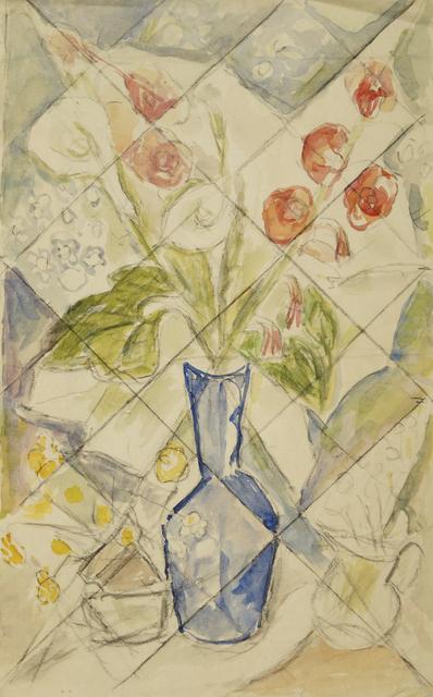 Marie Vorobieff Marevna, 'Still life with flowers', Roseberys