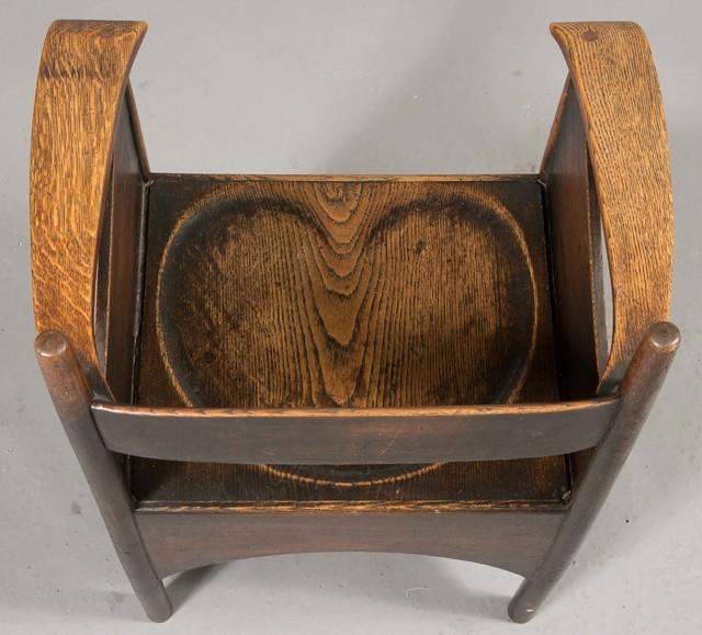 Charles Rennie Mackintosh   Stained Oak Armchair   Artsy
