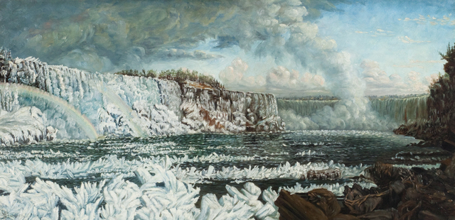 , 'Niagara Falls,' , Questroyal Fine Art