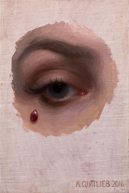 , 'Ruby Teardrop,' 2016, Abend Gallery