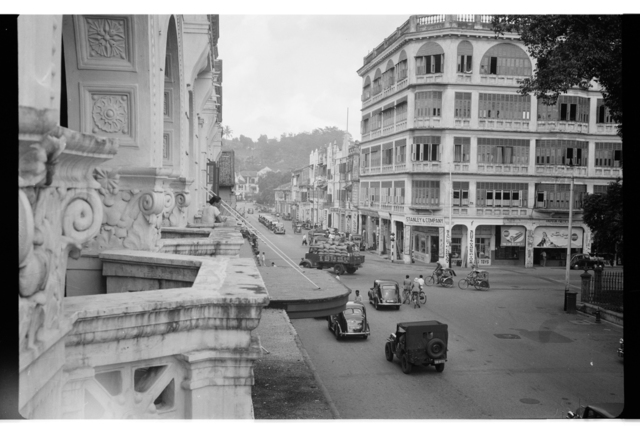 , 'Stanley & Co, view from Adelphi Singapore,' 1948, Sultan Ismail Photograph Editions