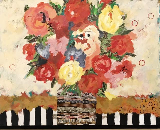 Cathy Stark, 'Floreale Quattro', 2019, {9} The Gallery