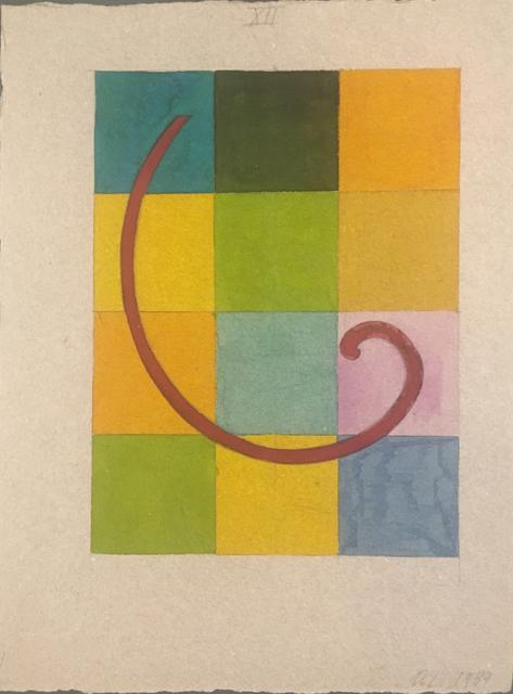 , 'Vortex sobre 12 secciones,' 1989, Herlitzka + Faria