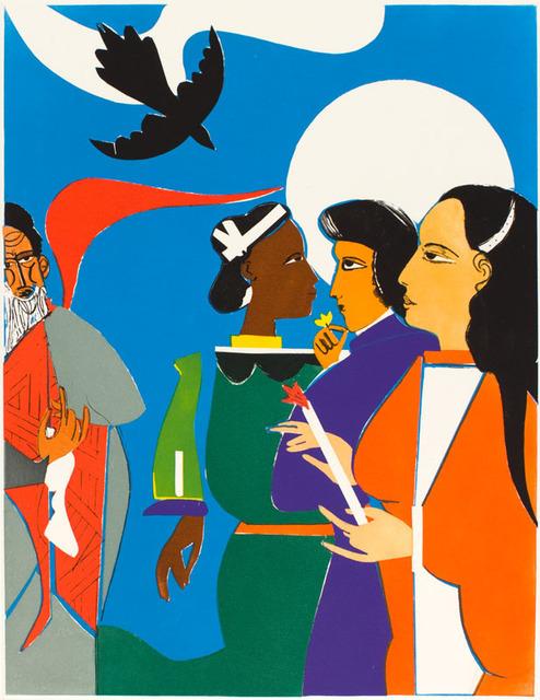 , 'SUNDAY MORNING AT AVILA,' 1982, Jerald Melberg Gallery