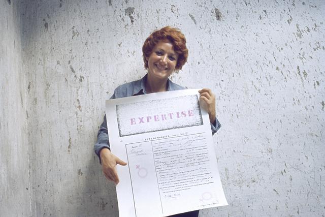 , 'Expertise. Conferma di identità,' 1972, Frittelli Arte Contemporanea