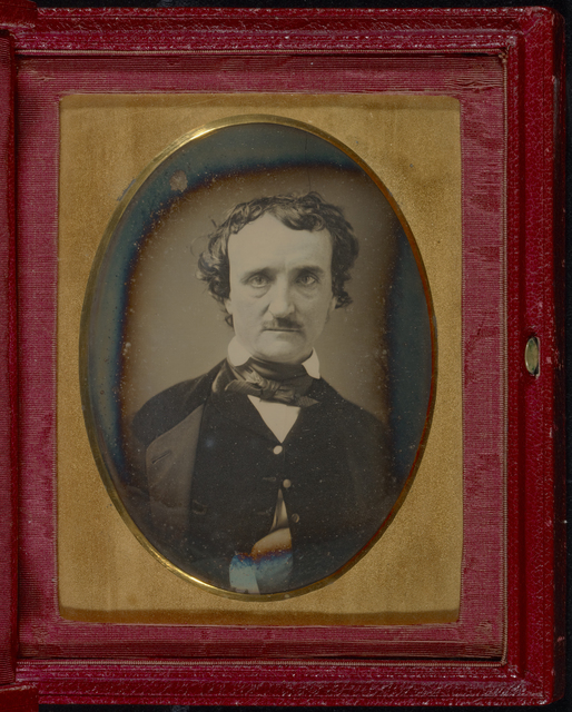 , 'Portrait of Edgar Allan Poe,' late May, early June, 1849, J. Paul Getty Museum