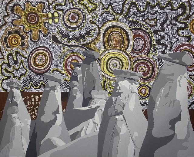 , 'Rock Tribe,' 2013, Walter Wickiser Gallery