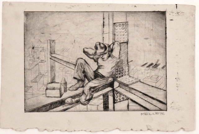 , 'Lunch Time,' 1935, Sragow Gallery