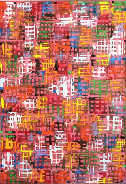 Petra Rös-Nickel, 'Cross Pink', 2014, Artspace Warehouse