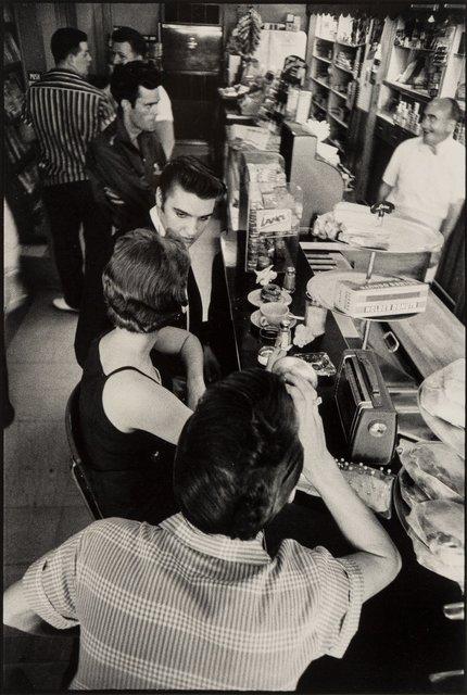 Alfred Wertheimer, 'Elvis Presley, Hotel Jefferson Coffee Shop, Richmond, Virginia', 1956, Photography, Gelatin silver, 1978, Heritage Auctions