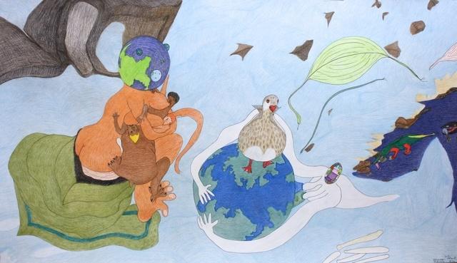 , 'Untitled (Breast Feeding, Planets, Alligator, Duck),' , Madrona Gallery