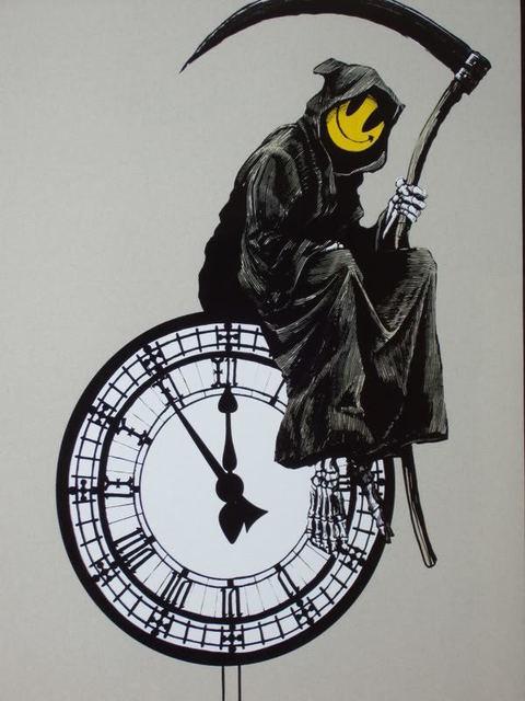 , 'Grin Reaper ,' 2005, Graffik Gallery / Banksy Editions