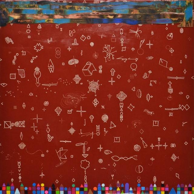, 'Orbital Relief XVI,' 2012/2014, Clark Gallery