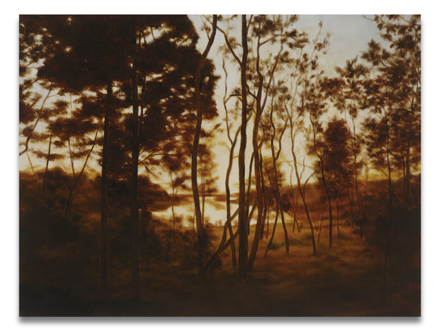 April Gornik, 'Fall Forest Light', 2015, Painting, Oil on linen, Miles McEnery Gallery