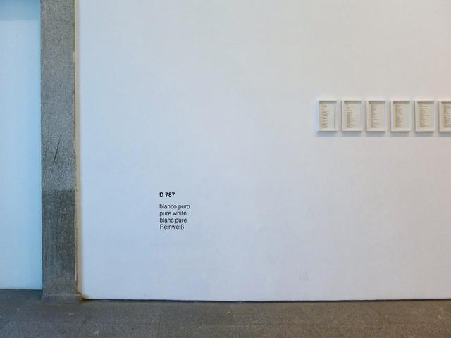 , 'Diez blancos (blanco puro),' 2015, Estrany - De La Mota