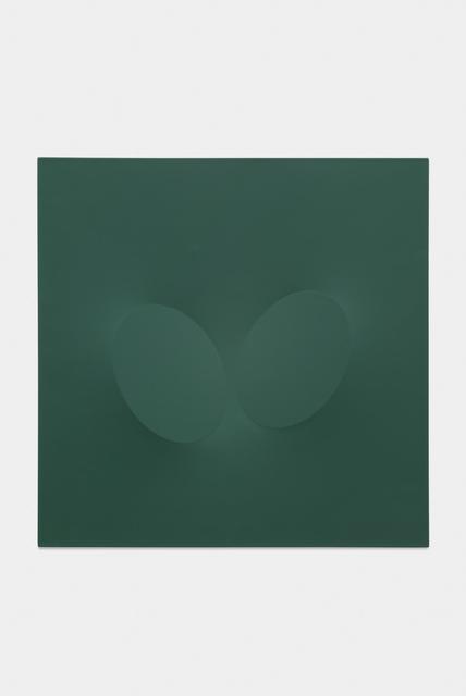 , 'Due ovali verdi,' 2004, Almine Rech
