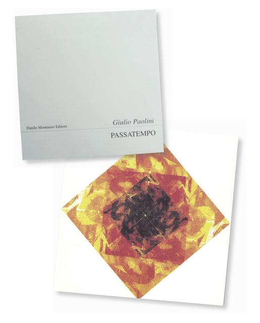 , 'Passatempo,' 1998, Danilo Montanari Editore