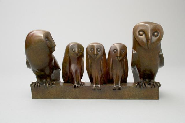 , 'Owls Family,' 2006, Galerie Dumonteil