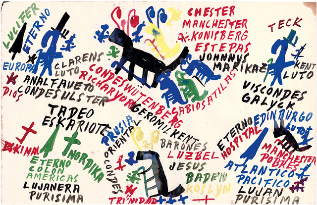 , 'untitled,' 1970, Christian Berst Art Brut