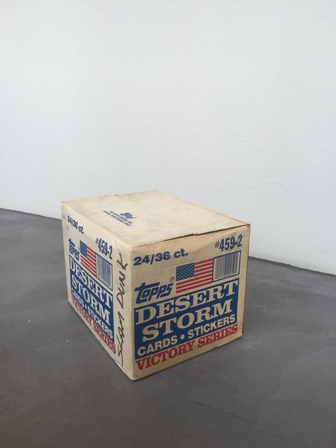 , 'Dead Stock,' 2015-2016, Galerie Maria Bernheim