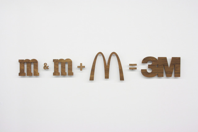 , 'm&m + M=3M,' 2010, Grieder Contemporary