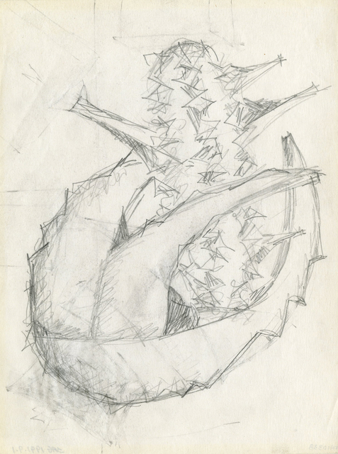 , 'Preliminary drawing for a sculpture,' 20th century, Thomas French Fine Art