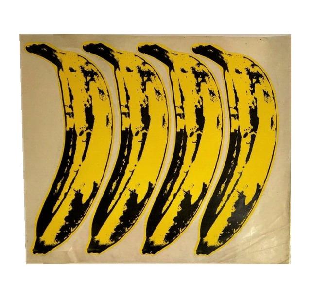 "Andy Warhol, 'SET OF 4- ""The Velvet Underground Banana Stickers"", Original Unpeeled Banana Stickers Designed by Warhol for the  Debut Album ""The Velvet Underground & Andy Warhol"", Extremely RARE', 1967, Ephemera or Merchandise, Coated Paper, Glue, Glassine Paper, VINCE fine arts/ephemera"