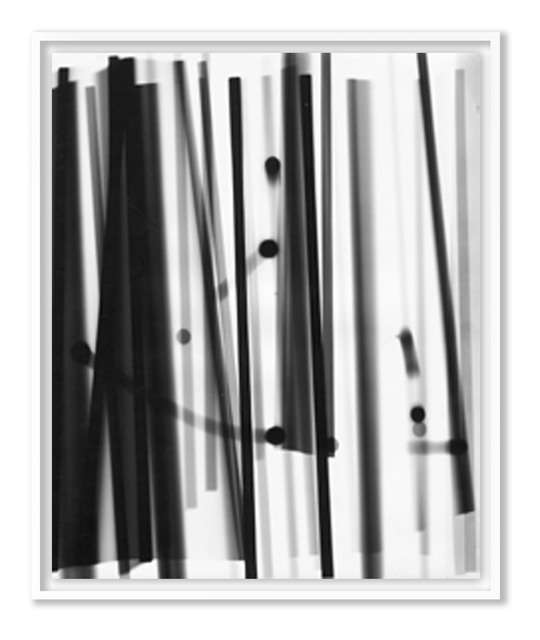 , 'Black stripes + balls,' 1952, HackelBury Fine Art
