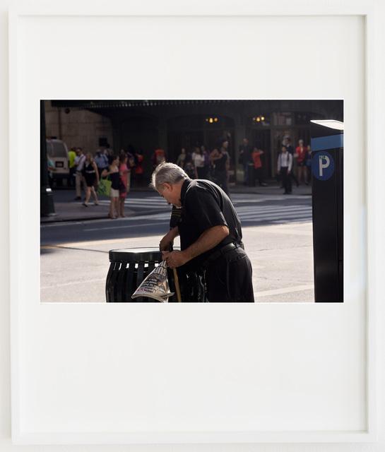 , '42nd and Vanderbilt (2012.07.10 08:35:45),' 2017, V1 Gallery