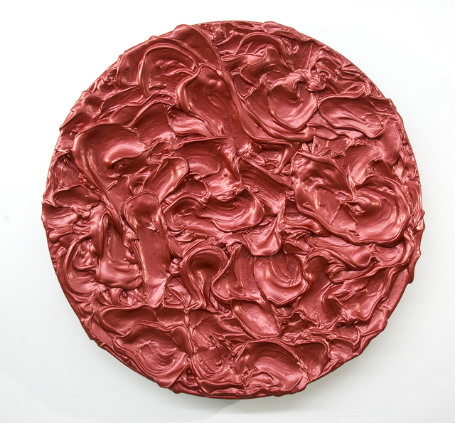 Shayne Dark, 'Storm Surge Tondo Red', 2019, Oeno Gallery