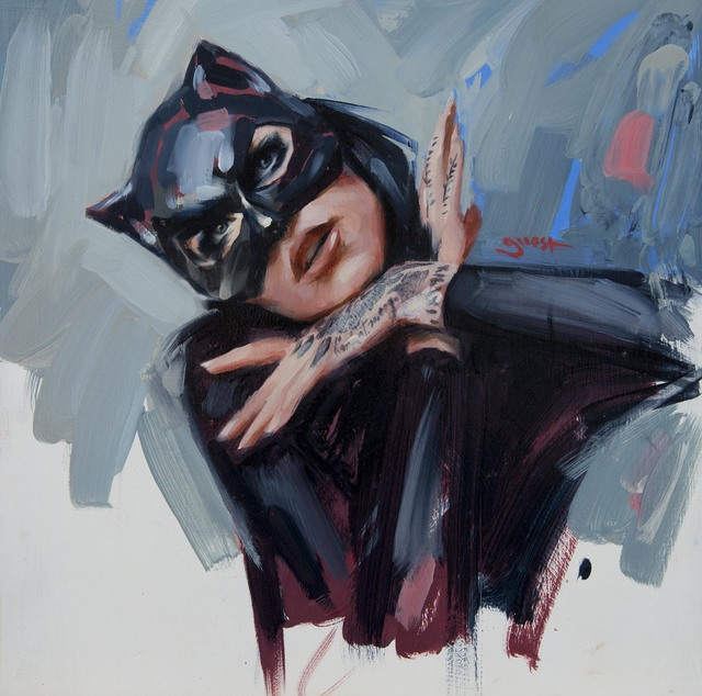""", '""""Black Mask"""",' 2019, Parlor Gallery"""