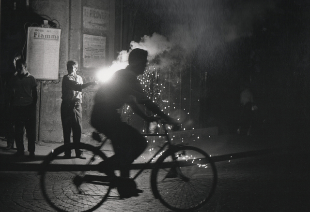 , 'Velo nuit Naples (Bicycle at night in Naples) ,' 1955, Holden Luntz Gallery
