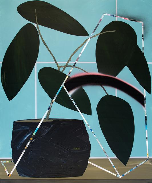 , 'Enthusiastic hello,' 2015, ALICE Gallery