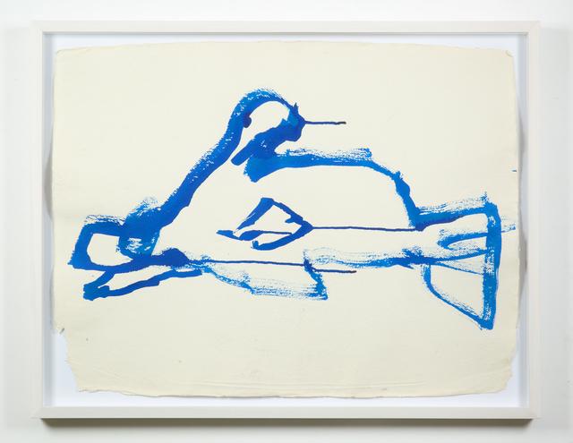 , 'Fish Drawing,' 2013, Galleria Raffaella Cortese
