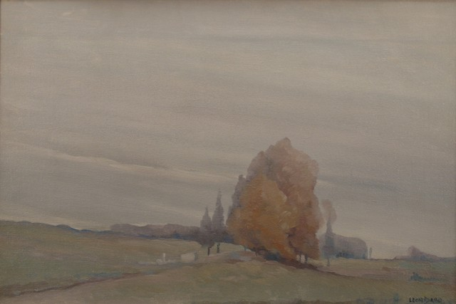 Leon Dabo, 'Gray Poplars', 1912, Private Collection, NY