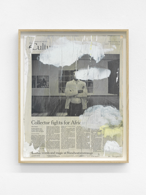 , 'untitled,' 2016, Buchmann Galerie